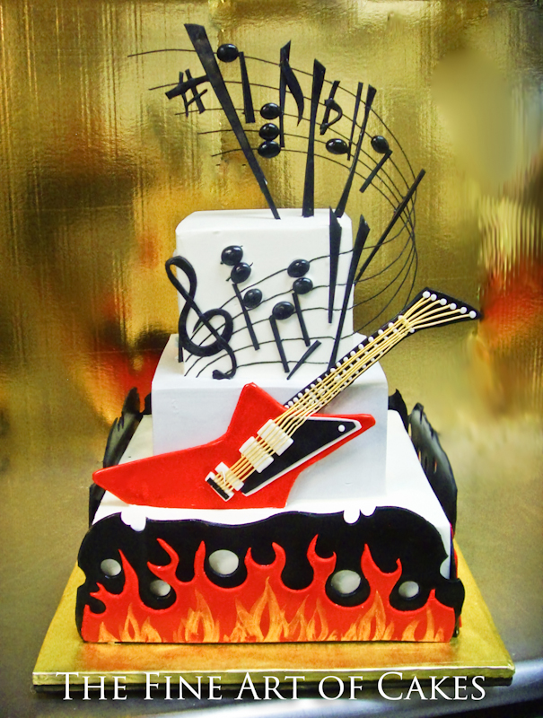 Rock Of Ages Cake The Fine Art Of Cakes