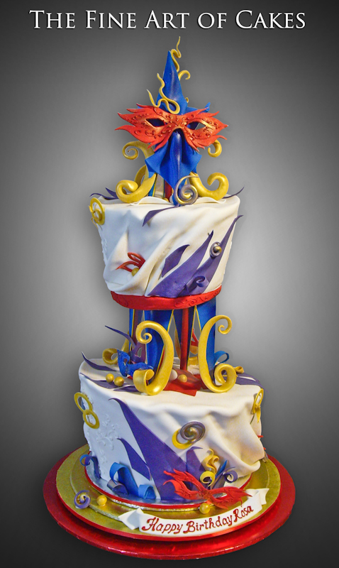 Cake Artist Nj : Cirque Du Soleil (#5004) The Fine Art of Cakes